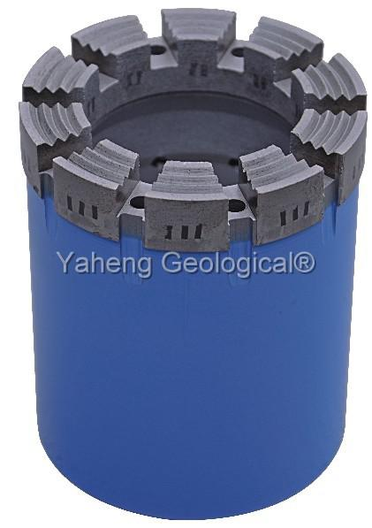 High Performance Q - Series Diamond Core Bit for Wireline Core Drilling Φ122mm