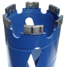 China Q Series Surface Set Core Barrel Diamond Core Bit Set With High Wear Resistance supplier