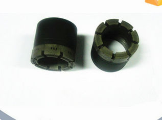 China AQ NQ PQ 9mm 12mm Surface Set Dry / Wet Diamond Core Drill Bits With Core Barrel supplier