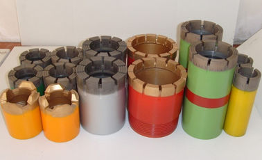 Impregnated Core Bits / Granite Core Drill Bits With Hard Matrix