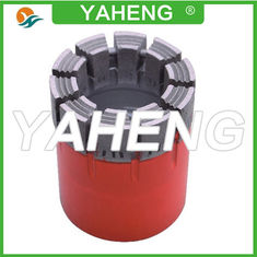 China High Penetration Rate Diamond Core Drill Bit For Stone , BQ NQ HQ PQ Size supplier