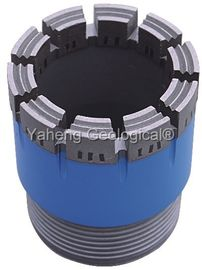 NWG Double Tube Diamond Core Drill Bit For Wet / Dry Drilling High Drill Speed