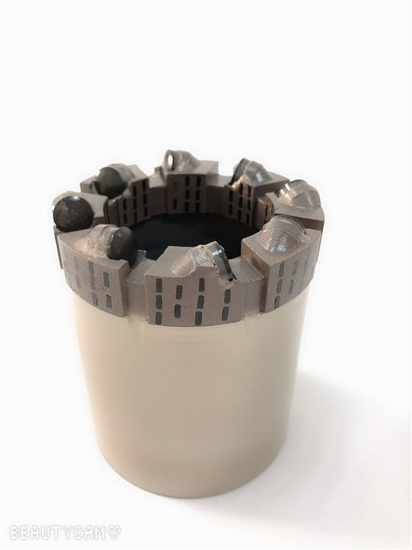 1e5ac9a2a9 Polycrystalline Diamond Core PDC Bit For Sandstone Drilling AW / BW High  Drilling Rate